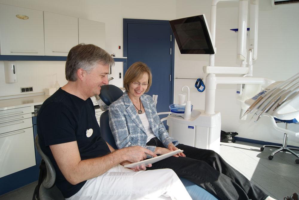 Vi giver råd og vejledning ang. tandlægeskræk